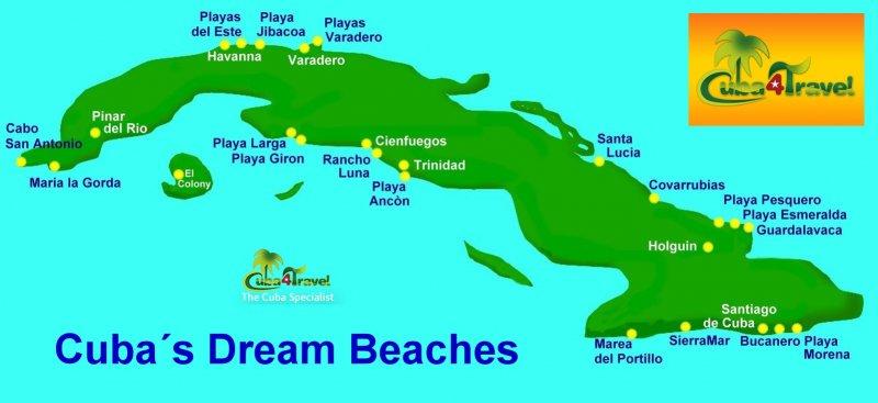 Cuba4Travel Cuba Travel Tour Specialist  Dream beaches at the