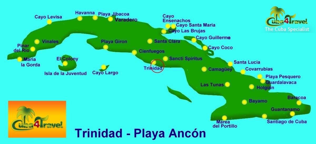 Cuba4travel Cuba Travel Tour Specialist 187 Trinidad